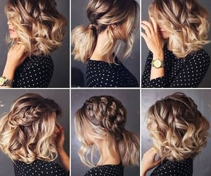 messy buns, tails, and haircut transformations image