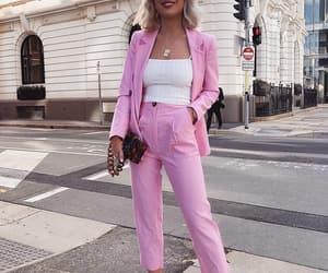 fashion, makeup, and platinum blonde hair image