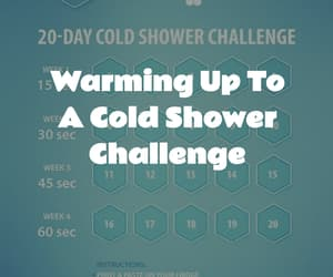 challenge, shower, and fitness image