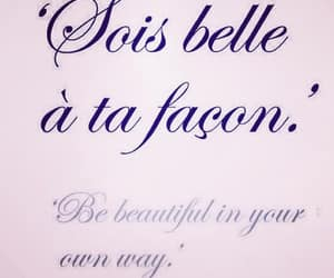 quotes, beautiful, and french image