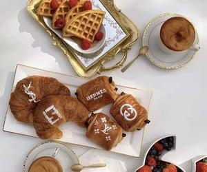 breakfast, fendi, and fruit image