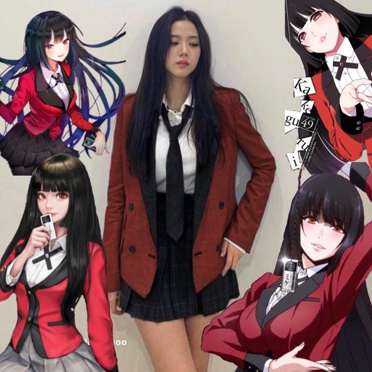 anime, blackpink, and kakegurui image