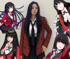 anime, messy, and blackpink image