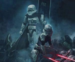 lightsaber, stormtrooper, and star wars wallpaper image
