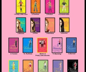 books, emily fields, and courtney dilaurentis image