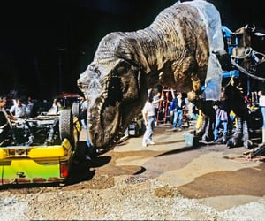 behind the scenes, Jurassic Park, and behind-the-scenes image