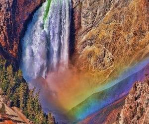 arcoiris, naturaleza, and belleza image