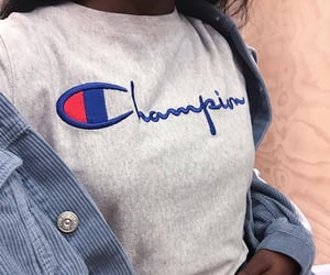 aesthetic, champion, and grey image