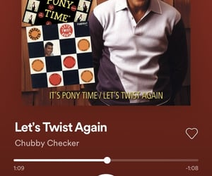 spotify and chubby checker image