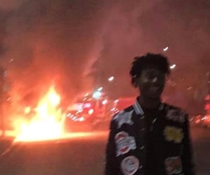 fire, playboi carti, and aesthetic image