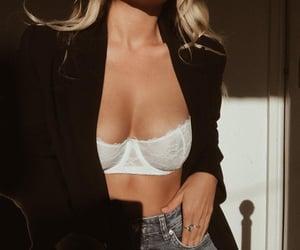 blonde, bra, and fashion image