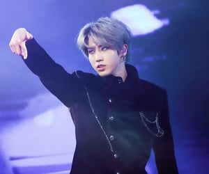 black suit, idol, and rapper image