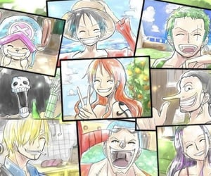 anime, chopper, and franky image