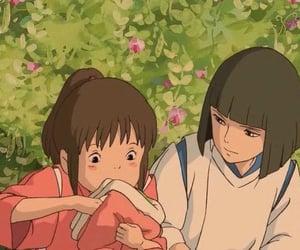 anime, header, and spirited away image
