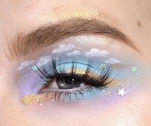 makeup, art, and eye image
