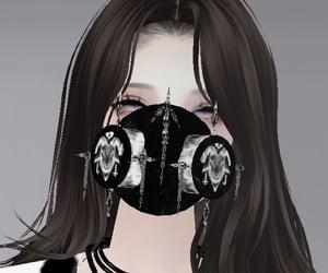 avatar, cyber girl, and imvu image