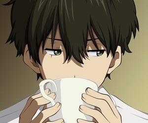 anime, hyouka, and boy image