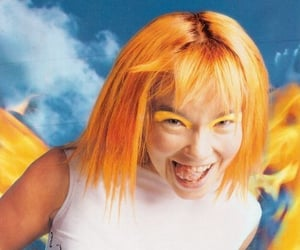 90s, aesthetic, and bjork image