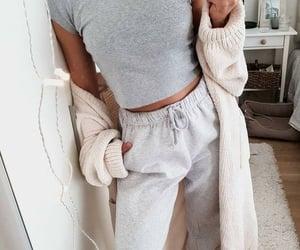 fashion, girl, and Lazy image