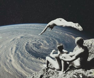 space, art, and earth image