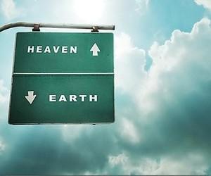heaven, earth, and sky image