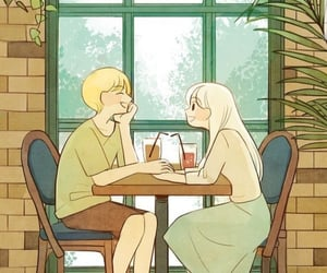 illustration and love image