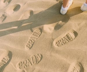 Prada, aesthetic, and beach image