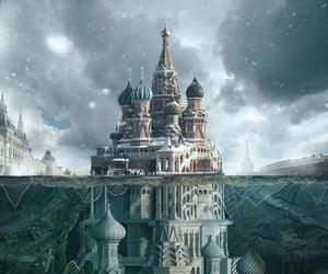castle, imagination, and fantasy image
