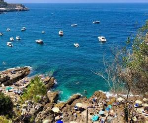 coast, italy, and Amalfi image