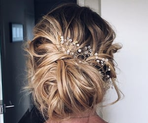 accessories, bun, and fashion image