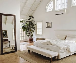 architecture, bedroom, and cosy image