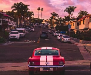 car, retro, and summer image
