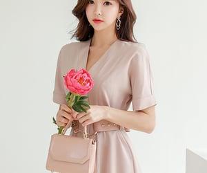 asian fashion, dress, and kfashion image