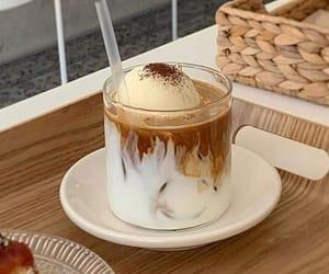 coffee, enjoy, and ice cream image