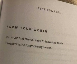 quotes, respect, and worth image