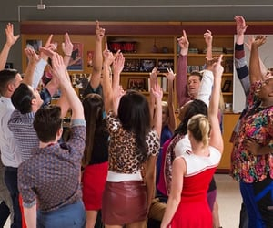 glee and 100 image