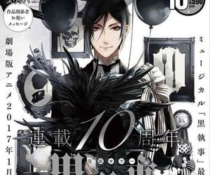 black butler, kuroshitsuji, and revista image