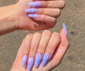 aesthetic, alternative, and fake nails image