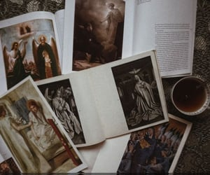 academia, book, and dark academia image
