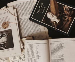 book and dark academia image