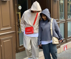 couple and streetwear image