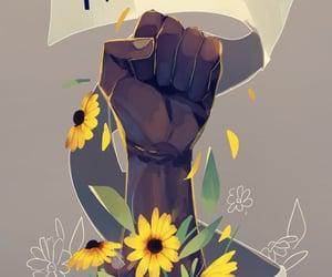 justice, movement, and blacklivesmatter image