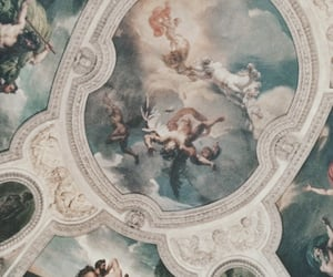 ceiling, aesthetic, and angels image