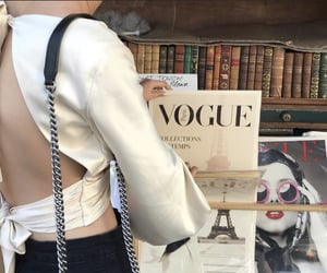 fashion, book, and paris image