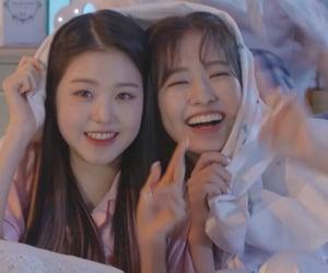 izone, wonyoung, and yujin image