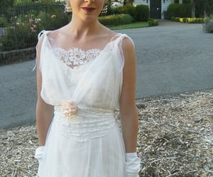 bridal gown, wedding gown, and wedding dresses image