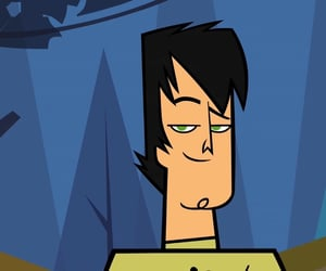 handsome, trent, and total drama image