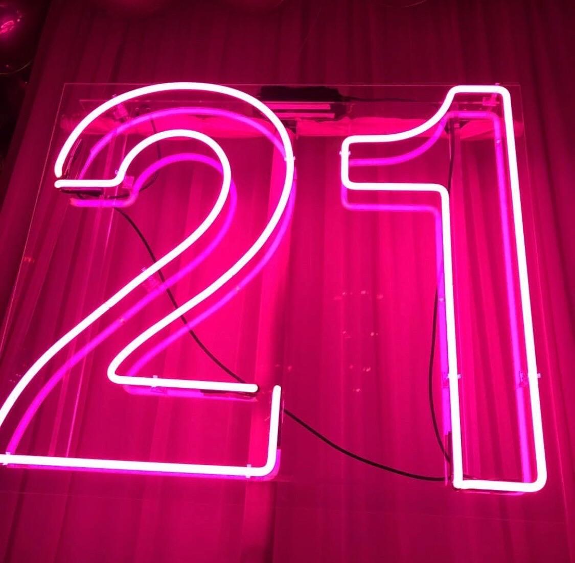birthday, love, and 21 image