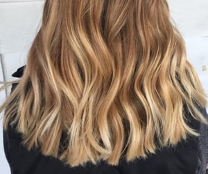 waves, blonde, and curls image