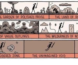 creativity, draft, and immagination image